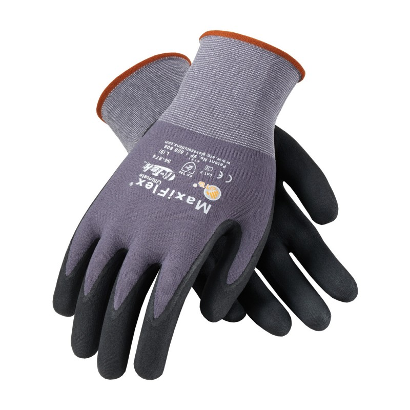 PIP Coated Gloves | MaxiFlex Gloves | Enviro Safety Products, envirosafetyproducts