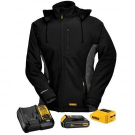 Dewalt Women's Heated Jacket - Ful Kit Black Color - 1 / Box