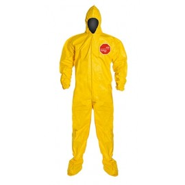 DuPont™ Tychem® 2000 QC122B YL Coveralls 12/Case