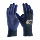 PIP 34-244/M ATG Ultra Light Weight Seamless Knit Nylon Glove with Nitrile Coated MicroFoam Grip on Palm & Fingers Micro Dot Palm Medium 12 DZ