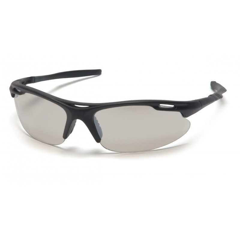 Pyramex Safety - Avante - Black Frame/Indoor/Outdoor Mirror Lens Polycarbonate Safety Glasses - 12 / BX