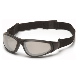Pyramex  XSG  Black Frame/Indoor/Outdoor Anti Fog Lens Polycarbonate Safety Glasses  12 / BX
