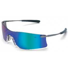 MCR Rubicon Safety Glasses Emerald Mirror Lens 1/DZ