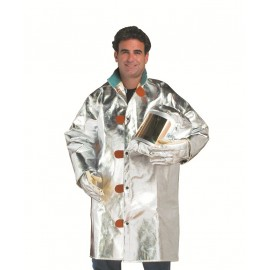 "17oz Aluminized Carbon Kevlar® 40"" Coat"