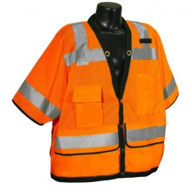 Radians SV59-3 Safety Vest - Class 3 - Surveyor - Heavy Duty Mesh  (1 EA)