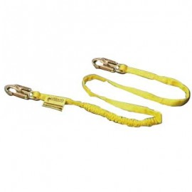 Miller Manyard Shock-Absorbing Lanyard Single Leg-Snap Hook