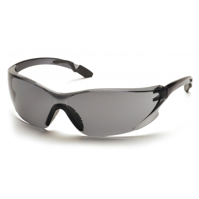 Pyramex Safety - Achieva - Gray Temples/ Gray Lens Polycarbonate Safety Glasses - 12 / BX