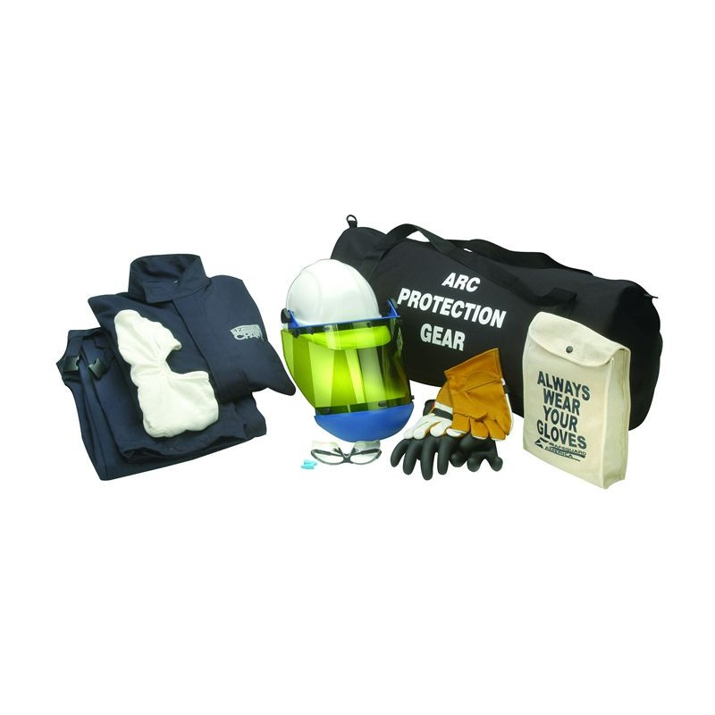 CPA 12-Cal Arc Flash Jacket and Bib Kit with Balaclava - Level 2