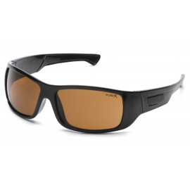 Pyramex  Furix  Black Frame/Coffee AntiFog  Safety Glasses  12/BX