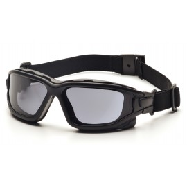 Pyramex  IForce  Black StrapTemples/Gray AntiFog Lens  Safety Glasses  12/BX