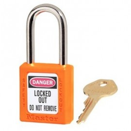 Master Lock Xenoy 410 Orange Safety Padlocks - Keyed Alike