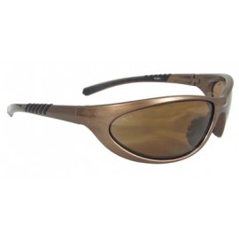 Radians PD3-67 Paradox Safety Glasses Mocha Frame Gold Mirror Lens 12/Pairs