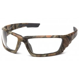 Venture Gear Brevard Cammo Frame/ Clear AntiFog Lens Safety Glasses 1 / EA