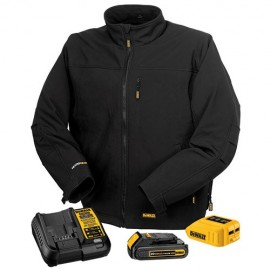 Dewalt Soft Shell Heated Jacket - Full Kit Black Color - 1 / Box