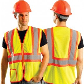 Occulux Economy Two-Tone Mesh Safety Vest