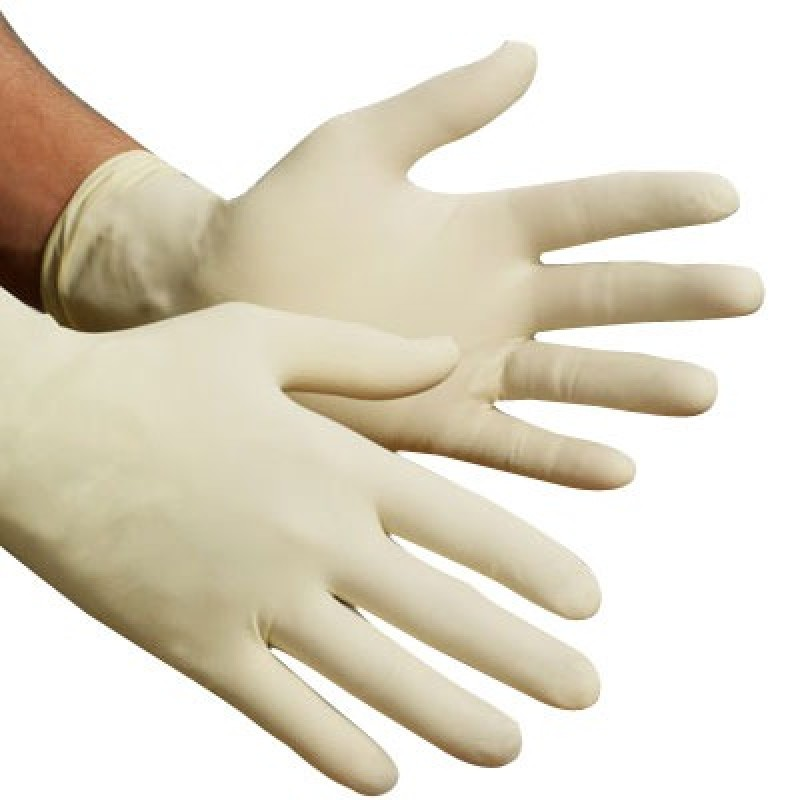Ansell Latex Powder Free Disposable Gloves (10 Boxes)