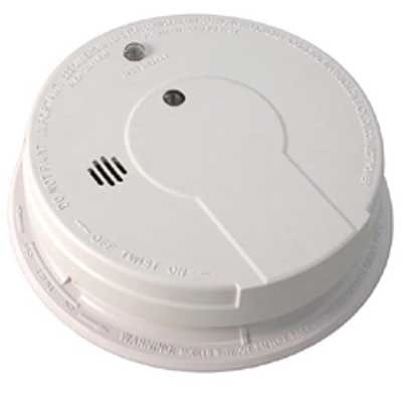 Brooks Ionization Smoke Alarm 120VAC w/9V Battery Backup