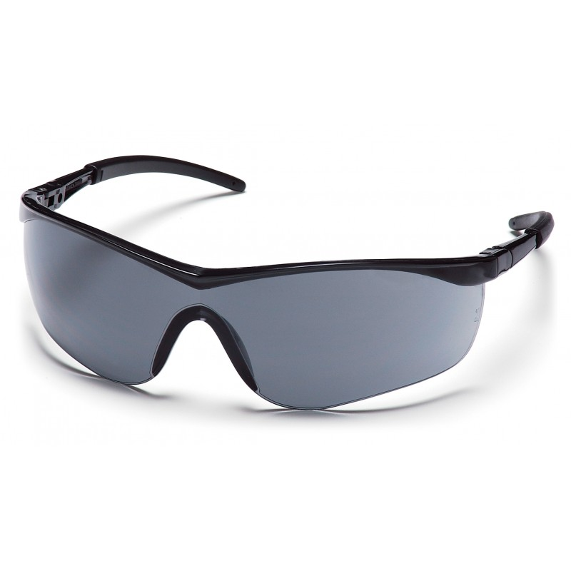 Pyramex Safety - Mayan - Black Frame/Gray Lens Polycarbonate Safety Glasses - 12 / BX