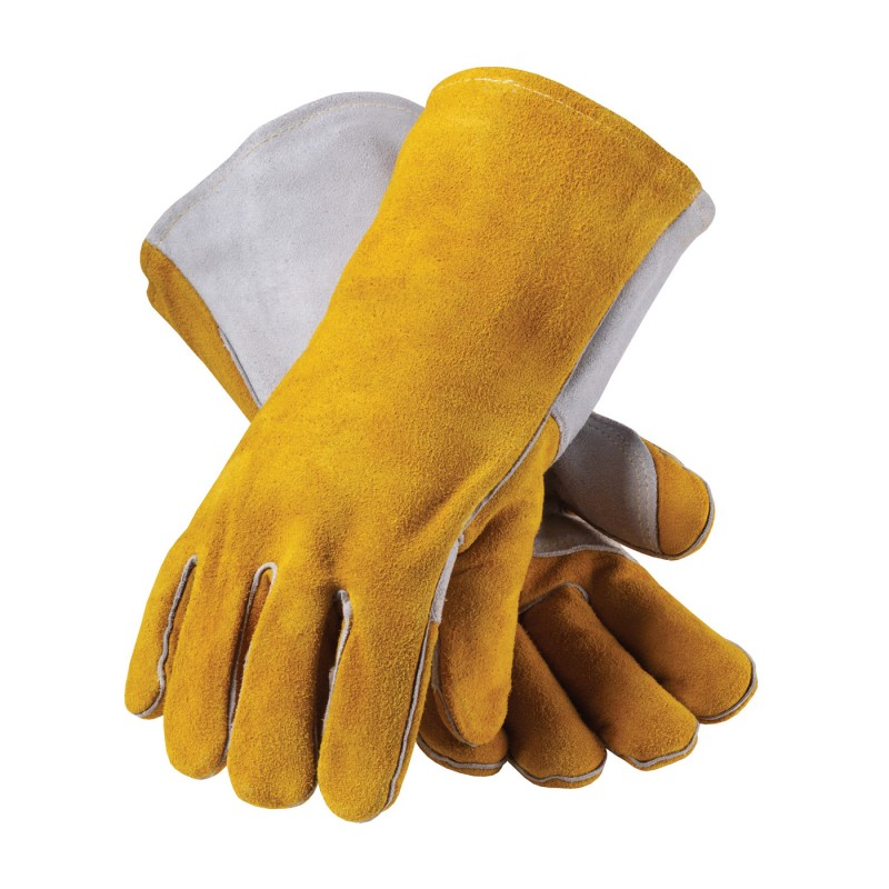 Side Split Leather with Foam Liner & Kevlar® Stitched Glove (LARGE) (12 PR)