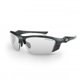 Radians TL11 Indoor/Outdoor Gray Frame Safety Glasses 12 PR/Box