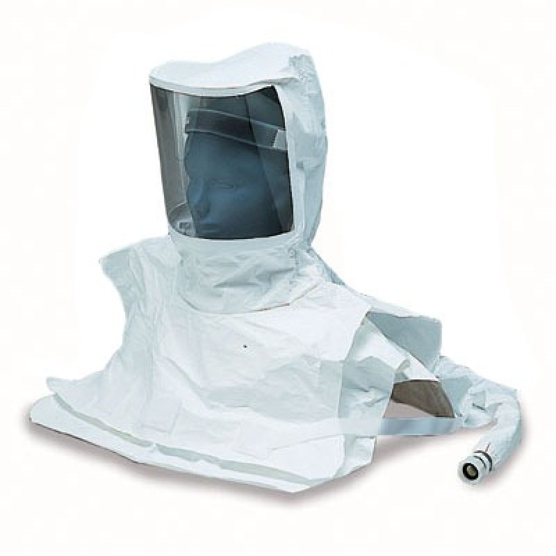 Allegro 9911-10 Double Bib Maintenance Free Tyvek Hood
