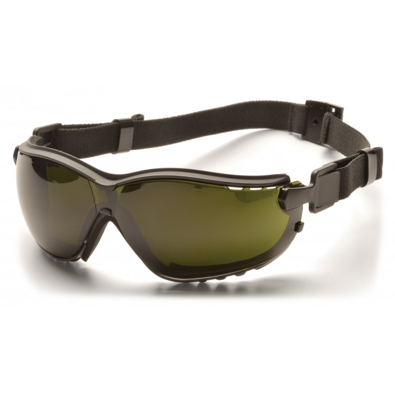 Pyramex Safety - V2G - Black Frame/5.0 IR Filter Lens Polycarbonate Safety Glasses - 12 / BX