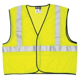 MCR River City VCL2ML - Economy Class 2 Safety Vest, Lime Color  1 Each