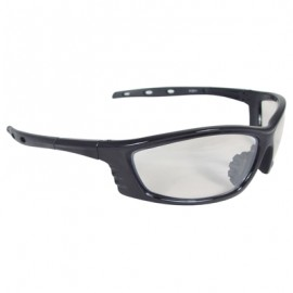 Radians Chaos Safety Glasses - Black Frame, Indoor/Outdoor Lens