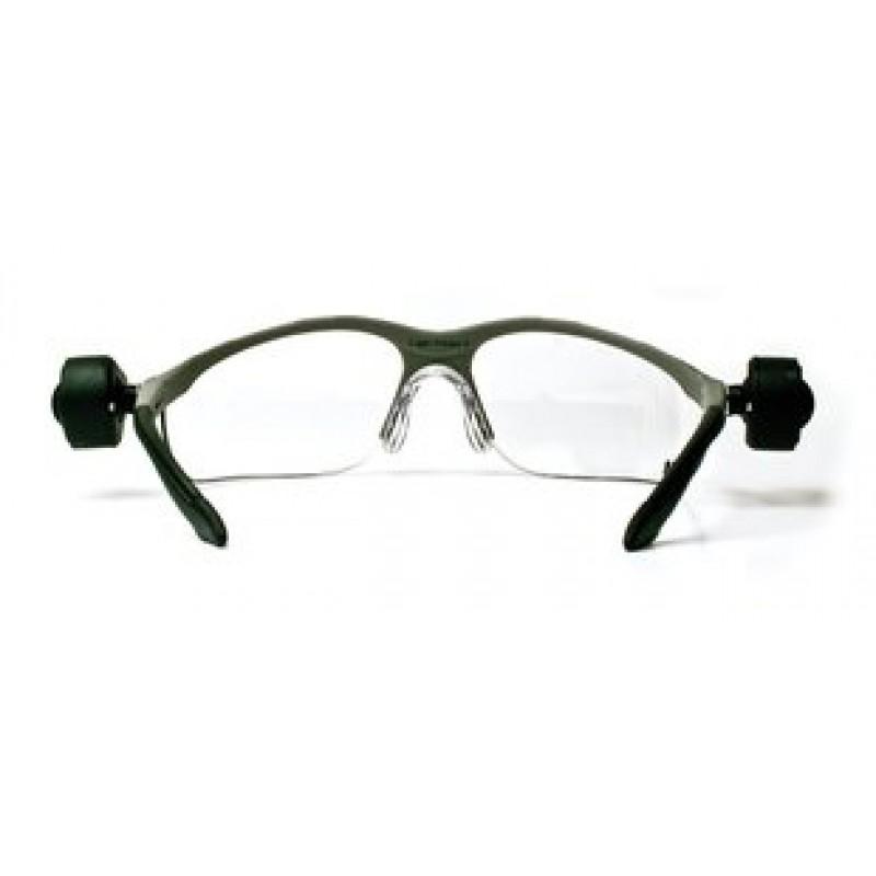 light vision 2 led safety glasses ao safety glasses. Black Bedroom Furniture Sets. Home Design Ideas