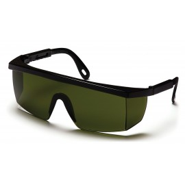 Pyramex  Integra  Black Frame/3.0 IR Filter Lens  Safety Glasses  12/BX