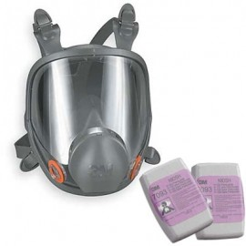 3M 6000 Series Full Face Asbestos Abatement Respirator