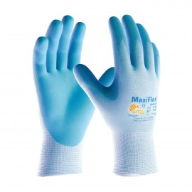 PIP ATG 34-824 MaxiFlex Active Gloves - Ultra Lightweight Nitrile Micro-Foam - Light Blue Color (1 DZ)