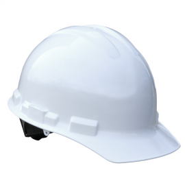 Radians Granite Cap Style 4 Point Pinlock Suspension Hard Hat - White Color (1 Each)