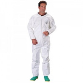 DuPont™ SL125B Tychem SL Coveralls with Elastic Wrists and Ankles  12/Case