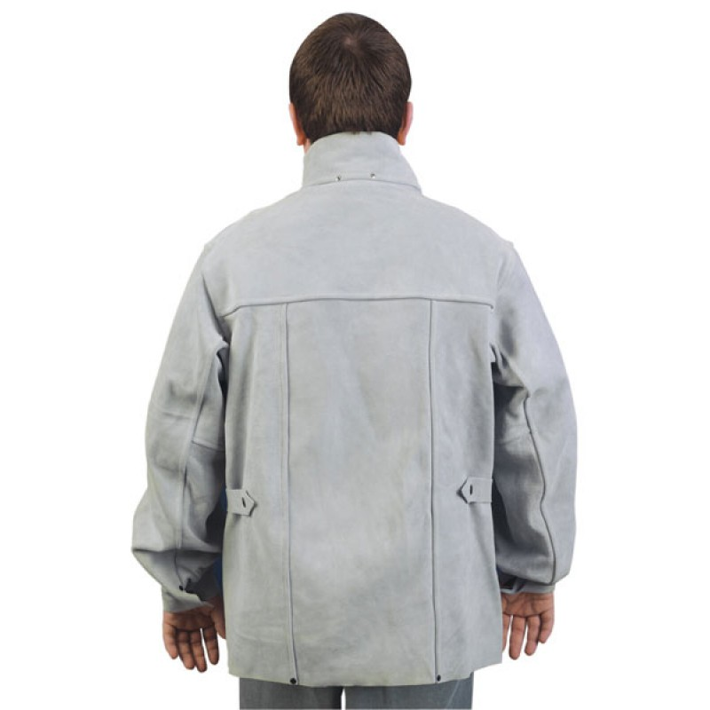 Memphis Welding Apparel - Welding Jacket, 30 Inch with 3 Pockets 38030MW