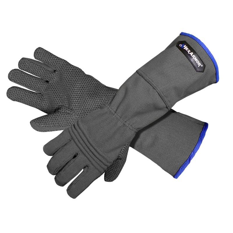 HexArmor Hercules 400R6E Glove Black Color 1/Pair