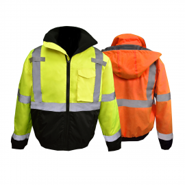 Radians SJ11QB Class 3 Weather Proof Bomber Jacket