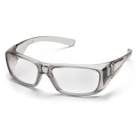 Pyramex  Emerge  Gray Frame/Clear +1.5 Lens  Safety Glasses  6 /BX
