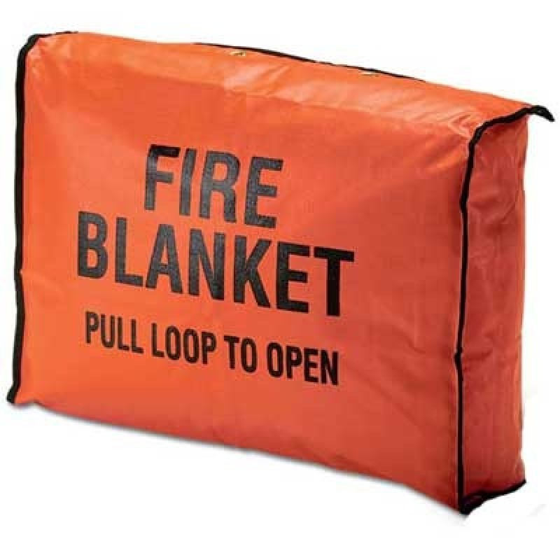 Brooks Fire Blanket Bag by Brooks Equipment Products - Orange Color - 1 Each