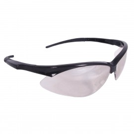 Radians Rad-Apocalypse - I/O Lens Safety Glasses Half Frame Style Black Color - 12 Pairs / Box