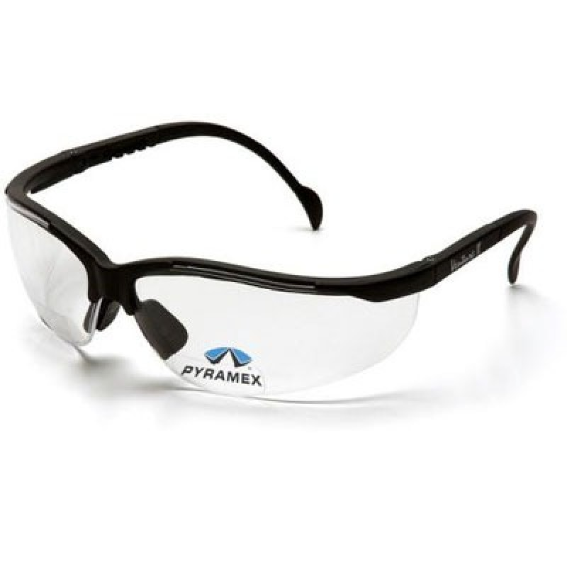 Pyramex V2 Readers Black Frame/Clear + 1.0 Lens