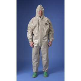 Lakeland 42130 ChemMax 4 Coverall  Attached Hood Tan 6/Case
