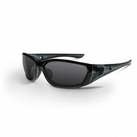 Radians 710 Smoke AntiFog Black Safety Glasses 12 PR/Box