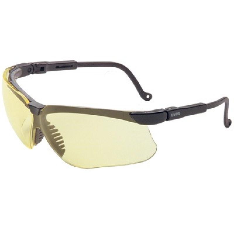 Uvex Genesis Safety Glasses - Amber Lens
