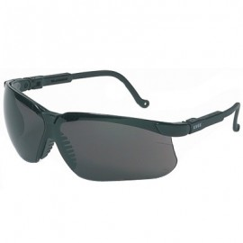 Uvex Genesis Safety Glasses - Dark Gray Lens (Box of 10)