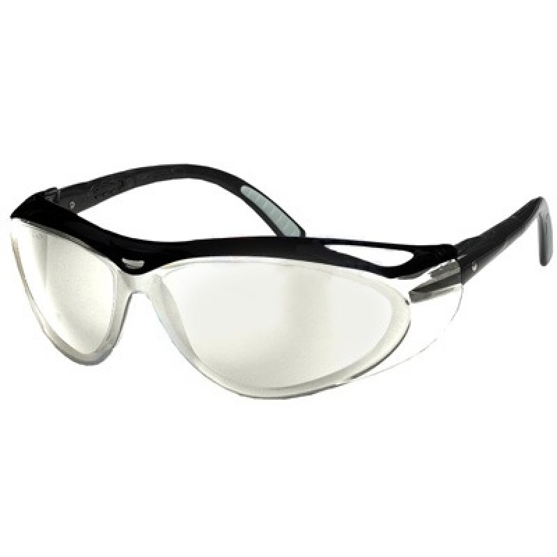 Black Frame Safety Glasses : Envision Safety Glasses with Black Frame and Indoor ...
