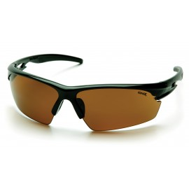 Pyramex  Ionix  Black Frame/Sandstone Bronze Lens  Safety Glasses  12/BX