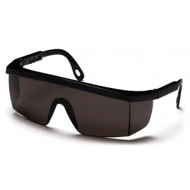 Pyramex  Integra  Black Frame/Gray Lens  Safety Glasses  12/BX