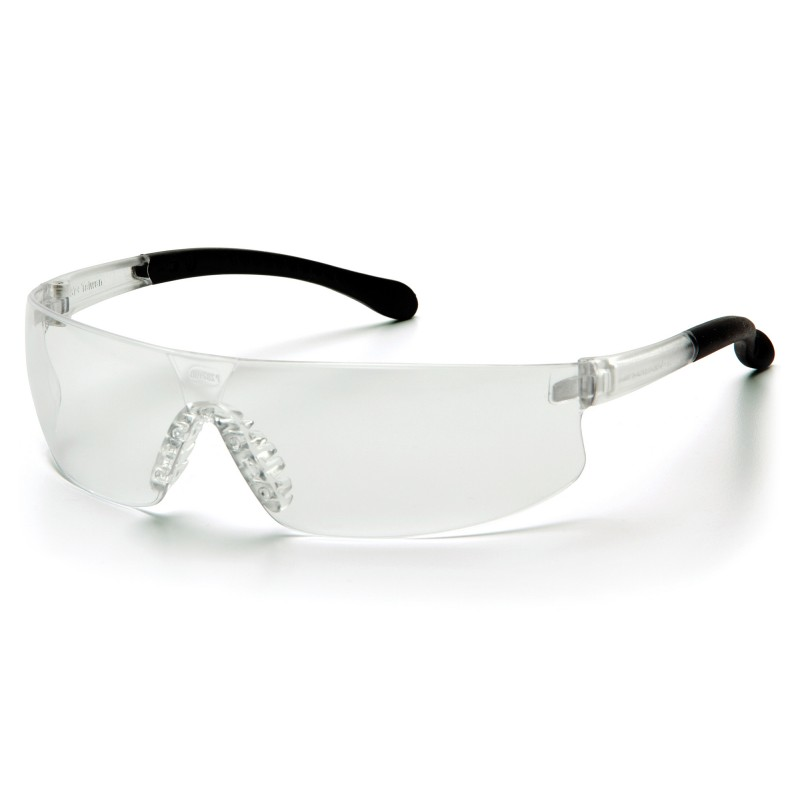 Pyramex Safety - Provoq - Clear Frame/Clear Anti-fog Lens Polycarbonate Safety Glasses - 12 / BX