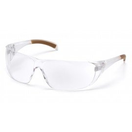 Carhartt  Billings  Clear Lens  Clear Temples Polycarbonate Safety Glasses  12 / BX